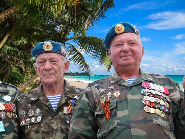 Отпуск ветеранам боевых действий