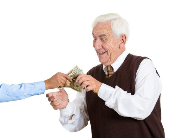 Пенсионерам доступен особый вид пособия, которое выплачивается ежемесячно