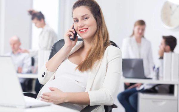 Расчёт беременным женщинам при неполной рабочей ставке
