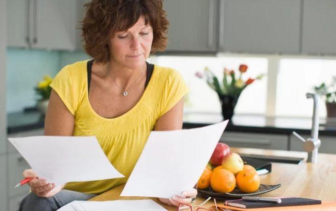 Заполнение заявления на пенсию распечатанного с сайта ПФР