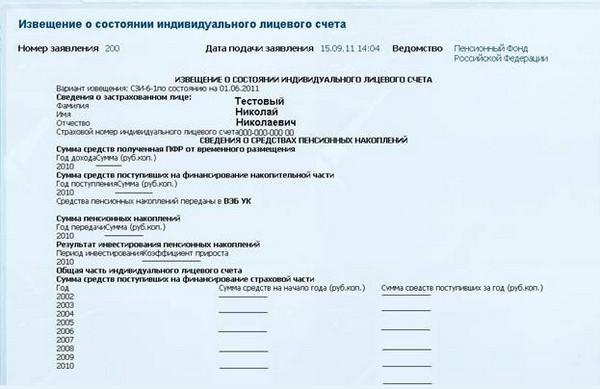 Необходимо получить выписку из индивидуального лицевого счета застрахованного гражданина