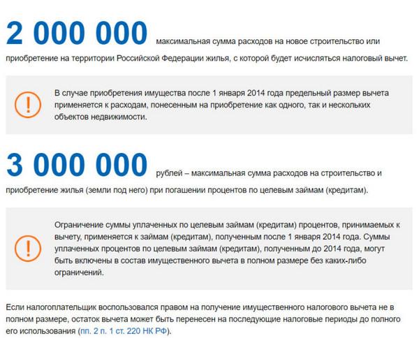 Можно получить вычеты по процентам по ипотеке, если жилье стоит менее 3 млн рублей