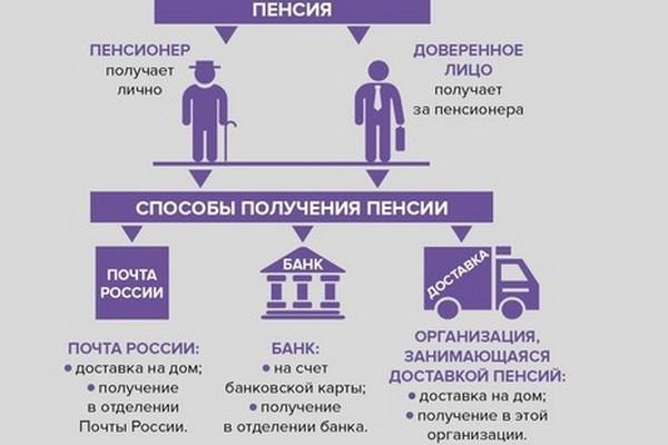 Можно выбрать способ получения пенсии
