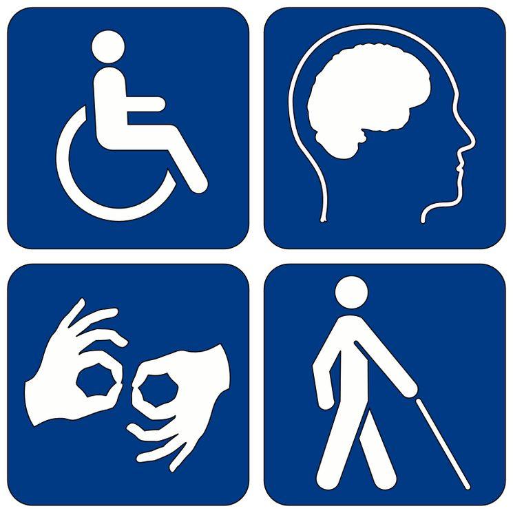 Классификация инвалидности по типу нарушений