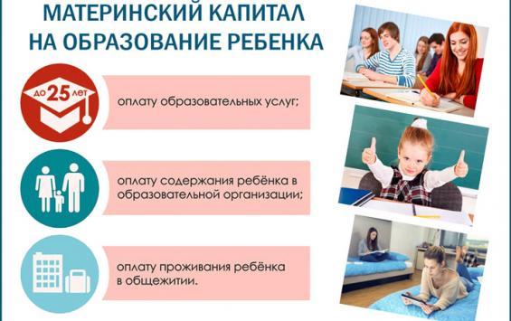 Материнский капитал на образование ребенка