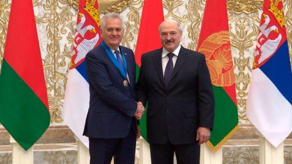 Орден Дружбы народов в Беларуси вручается чаще иностранным политическим деятелям