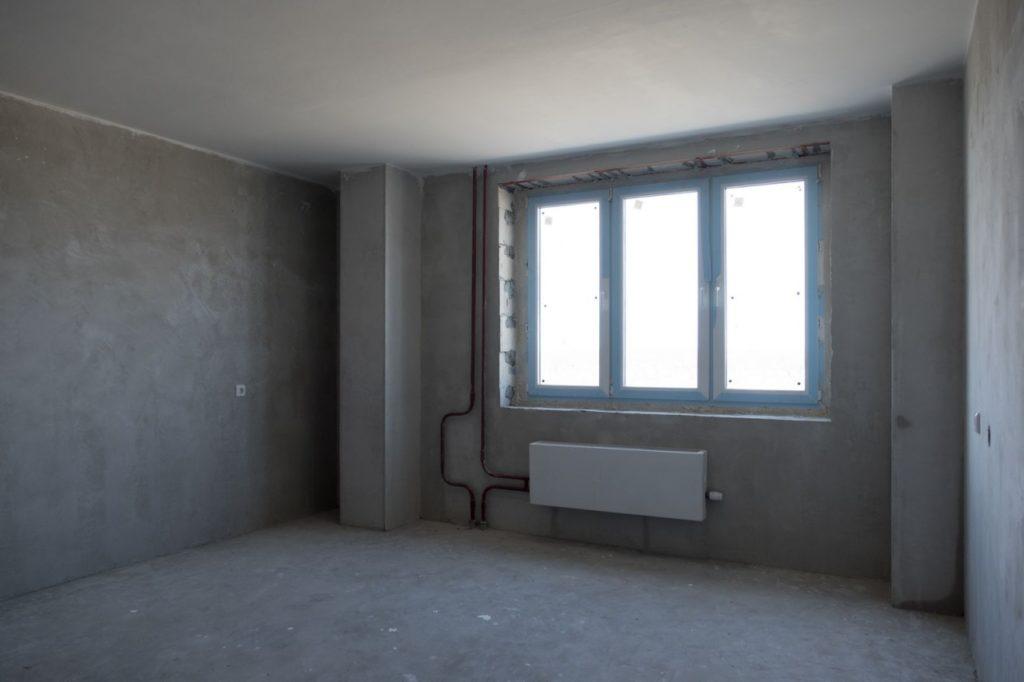 Осмотр квартиры под самоотделку