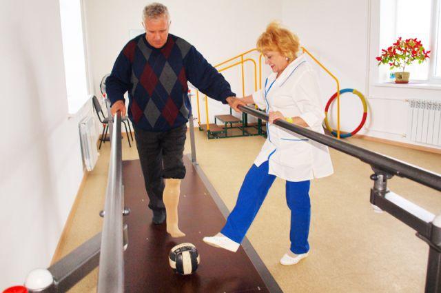 Программы реабилитации разрабатываются индивидуально и учитывают нарушения каждого инвалида