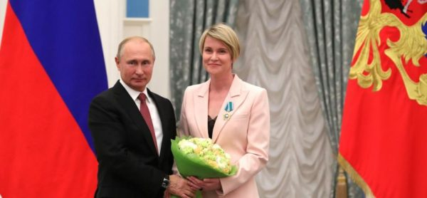Президент вручил ордена, медали, знаки о присвоении почетных званий выдающимся гражданам России