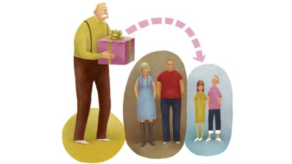 С марта 2002 года наследники могут получить накопительную нерастраченную часть пенсии