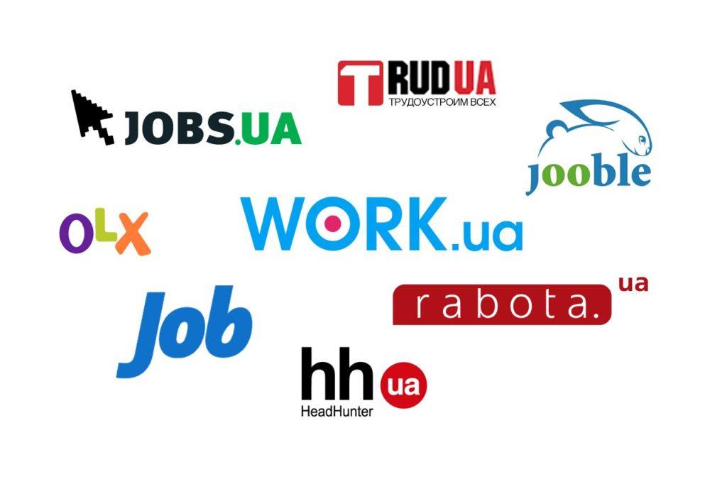 Сайты поиска работ