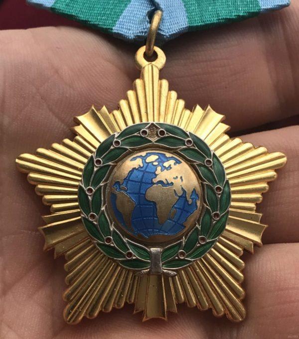 Внешний вид Ордена Дружбы