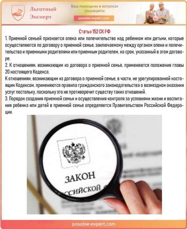 Статья 152 СК РФ