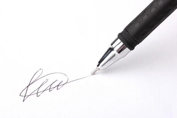В конце документа нужно поставить подпись и указать дату