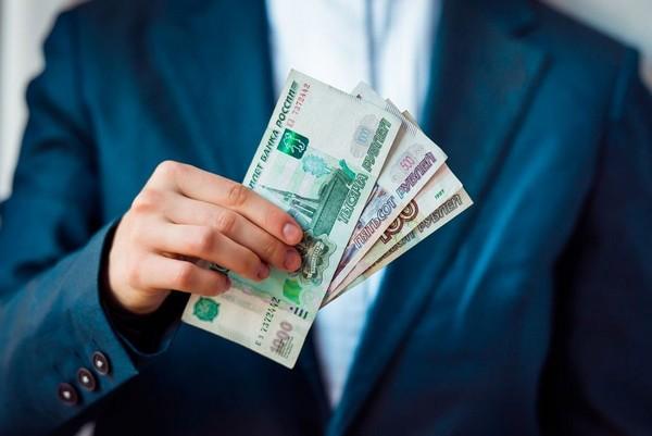 Размер подоходного налога зависит от зарплаты сотрудника