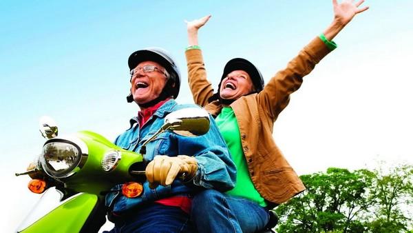 Выход на пенсию позволяет пожить в свое удовольствие, наконец заняться собой