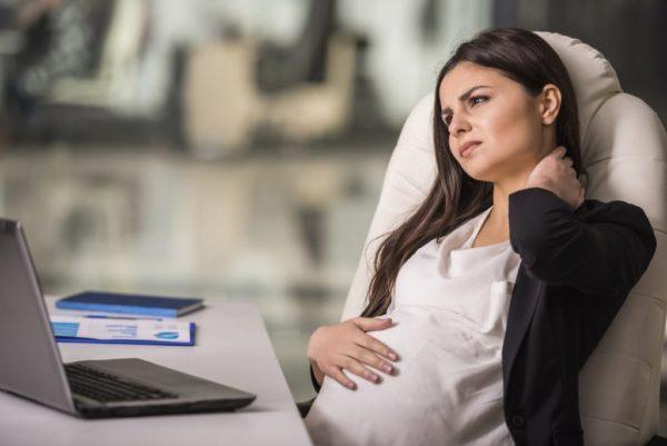 При беременности длительность отпуска увеличивается