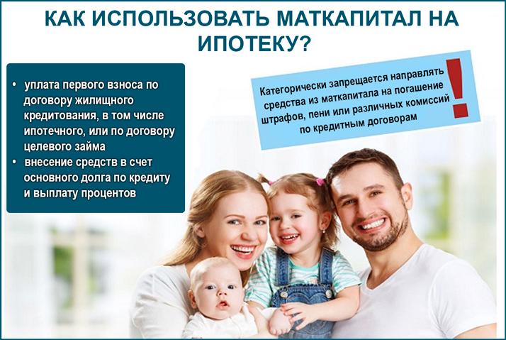 Как использовать маткапитал на ипотеку