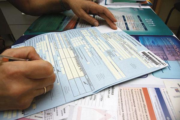 Как заполнить больничный лист в 2019 году работодателю, образец по МРОТ