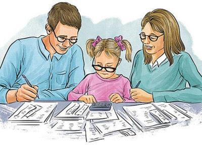 Калькулятор стандартных вычетов по НДФЛ на детей