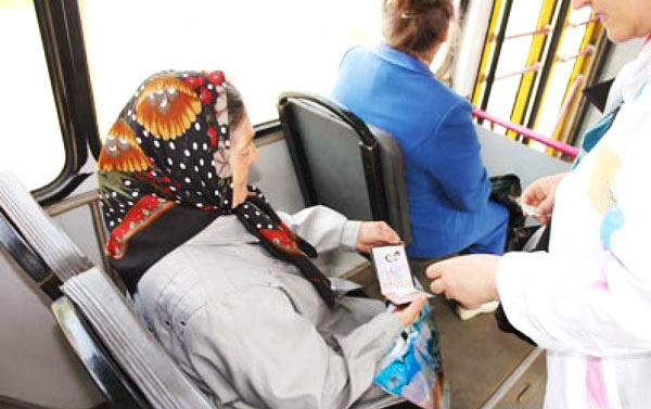 Льготный проезд пенсионеров в транспорте