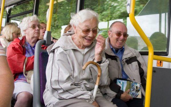 Льготы для пенсионеров - бесплатный проезд в городском транспорте