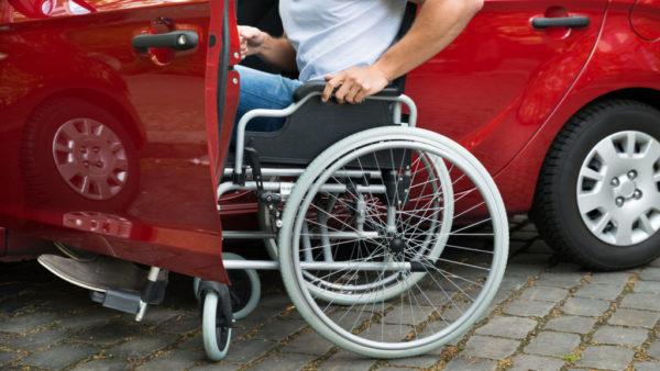 Налог на легковые автомашины, оптимизированные под использование инвалидами не взимается