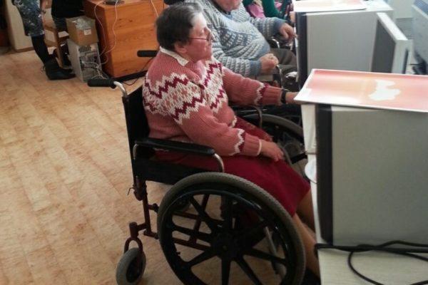 Пенсионер-инвалид работает