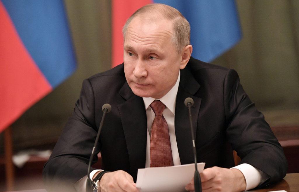 Путин говорит о выплате единовременных выплат пенсионерам, чьи пенсии ниже прожиточного минимуму