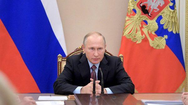 Путин говорит об индексации пенсий