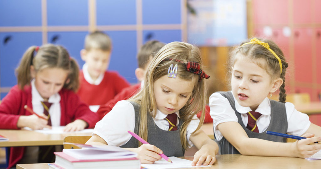 Ребенок в частной школе