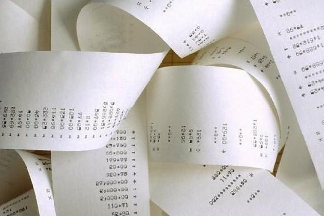 Реестр чеков для налогового вычета